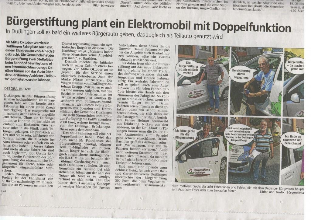 Tagblatt:Steinlachbote 13.9.2014