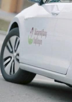 Unser Bürgerauto beim swt-Umweltpreis