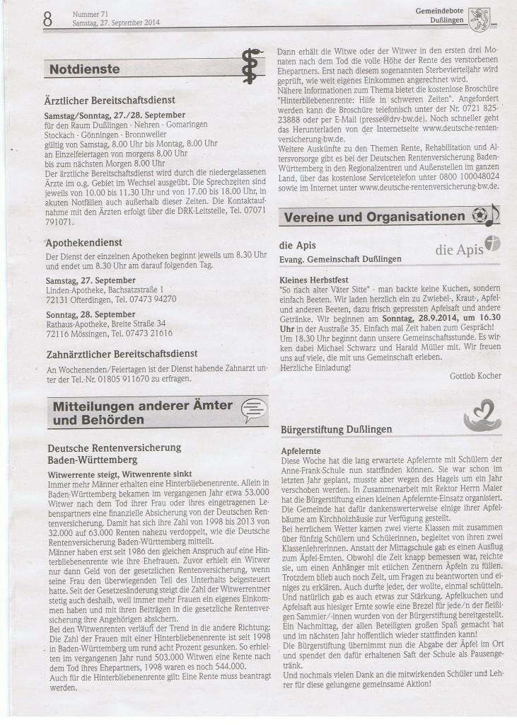 Gemeindeboten 71 : 2014 a
